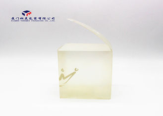 Custom Plastic PP Packaging Box Light Weight Milk White For Retail Products