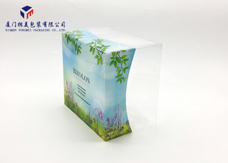 Plastic Retail Packaging Boxes For Chocolate Rectangle Shape PET Plastic Box