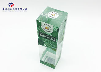 China Home Fragrance Clear Plastic Box Packaging 0.3mm Material Thickness OEM / ODM supplier