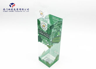 Transparent Rigid PET Plastic Box Offset Printing For Packing Reed Diffuser 23cm Height