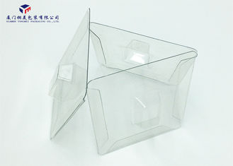 9cm Height Clear Plastic Gift Boxes , Clear Plastic Folding Boxes For Electronic Product