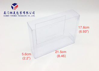 Offset Printing On Front Side Clear Box Packaging For Bath Gift Set 17.6cm Height