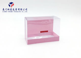 Light Weight Rectangle Shape Clear PVC Packaging Boxes Pack Bath Set 9.4cm Height