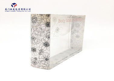 China Body Mist Set Clear Plastic Box Packaging Custom Made PET Plastic Boxes Light Weight factory