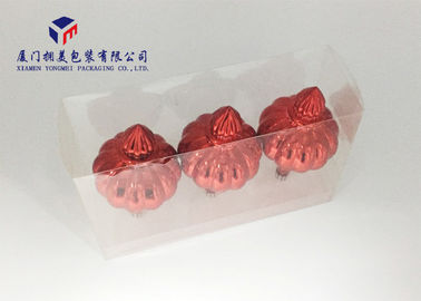 China Beautiful Hard Plastic Box Packaging 0.2mm Clear PET Plastic Box Pack 3 Lantern factory