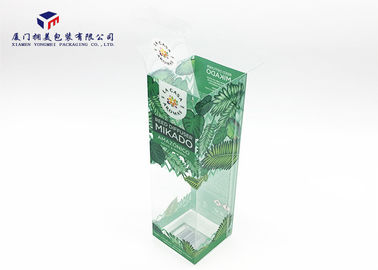 China Transparent Rigid PET Plastic Box Offset Printing For Packing Reed Diffuser 23cm Height factory